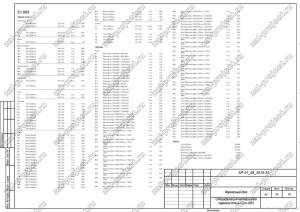 Пример проекта каркасного дома Спецификация материалов Ст.-003