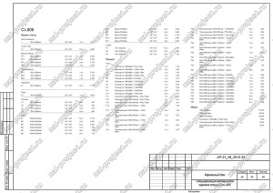Пример проекта каркасного дома Спецификация материалов Ст.-005