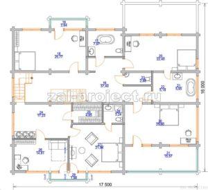 Пб-064 план 2-го этажа