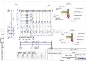 Устройство балок перекрытия цоколя пример проекта дома из клееного бруса