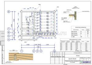 Устройство балок перекрытия 1-го этажа пример проекта дома из клееного бруса