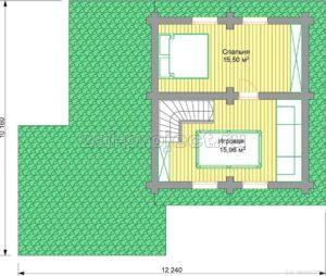 П-26 план 2-го этажа