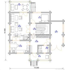 П-27 план 1-го этажа