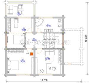 П-27 план 2-го этажа